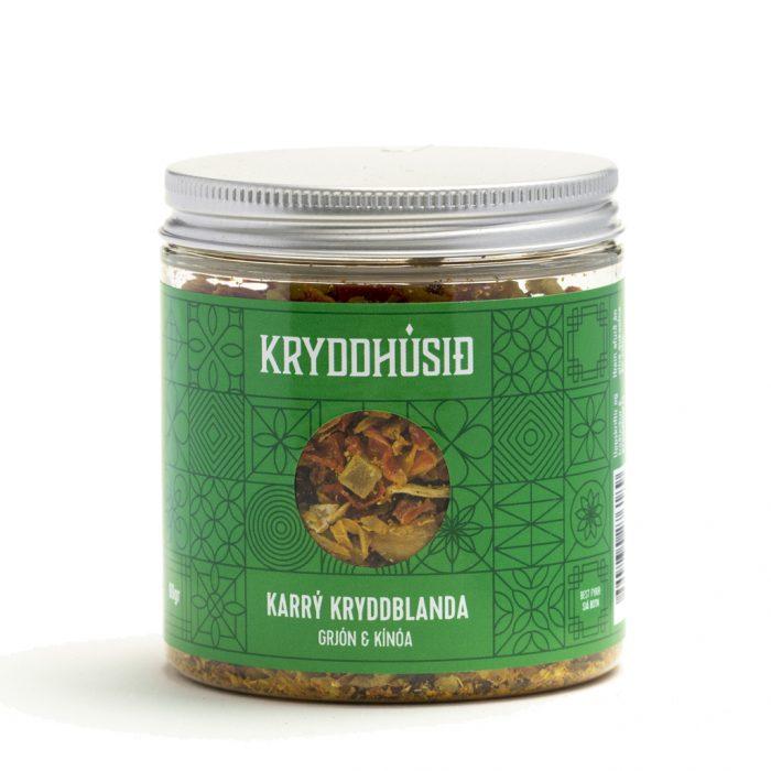 Karrý-kryddblanda-grjón-og-kínóa